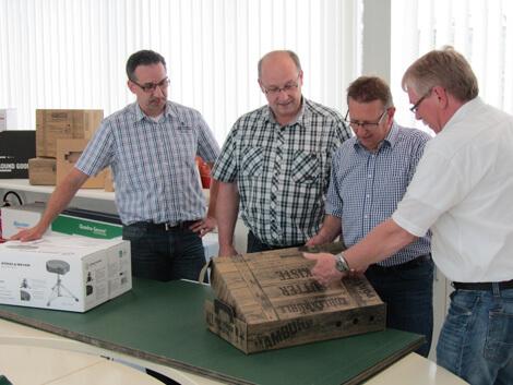 Beratung von Spezialisten für Verpackungen aus Wellpappe