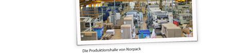 Klingele - Die Produktionshalle der NORPACK
