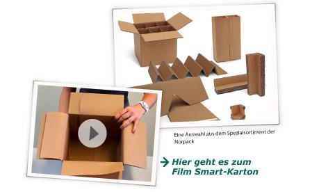 Klingele - eine Auswahl aus dem Spezialsortiment der Norpack. >>> Hier geht es zum Film: Smart-Karton
