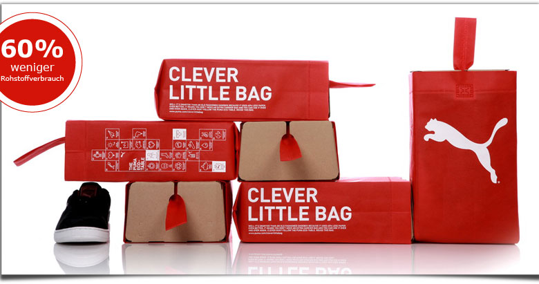 Klingele - Puma Clever Little Bag mit 60 % weniger Rohstoffverbrauch