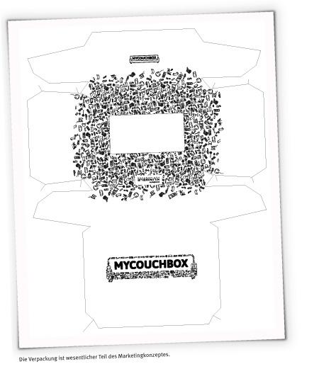 MYCOUCHBOX - Die Verpackung ist wesentlicher Teil des Meaketingkonzeptes