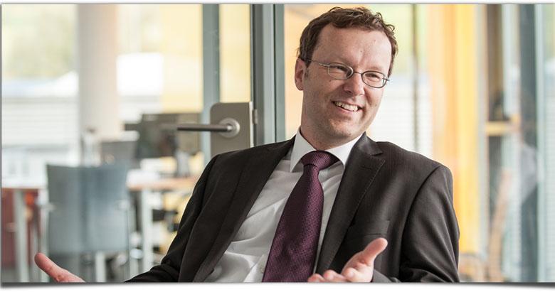 Klingele Entwicklungsleiter Christian Hössle