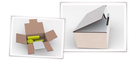 Klingele ClickFIx - sicher verpackt