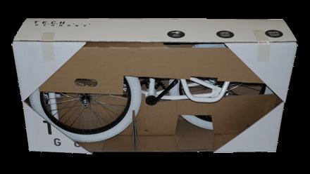 Klingele Fahrradverpackung