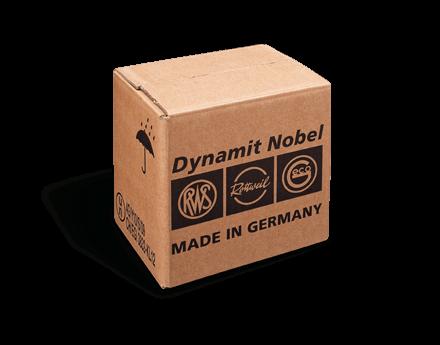 [Translate to niederländisch:] Gefahrgutverpackung Dynamit Nobel