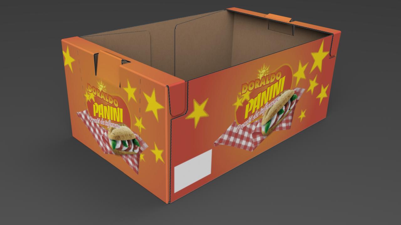 [Translate to niederländisch:] Stapelverpackung Lebensmittel - Lieken