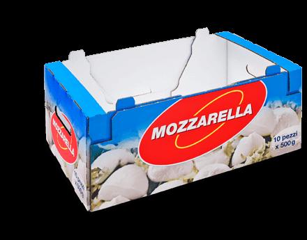 [Translate to englisch:] Stanzverpackung für Milchprodukte - Penny Mozarella