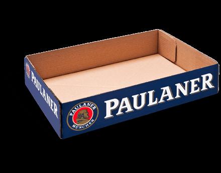 Stanzverpackung für Getränke - Paulaner