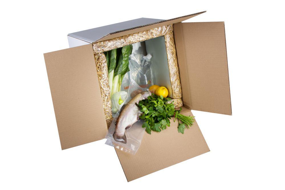 Landbox® geeignet für den Versand gekühlter Lebensmittel